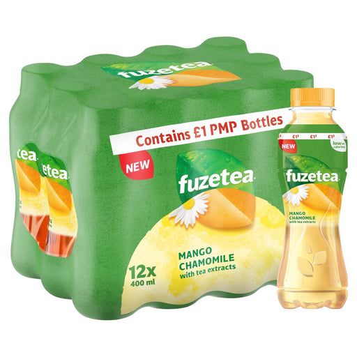 Fuze Tea Mango and Chamomile 400ml (Pack of 12)