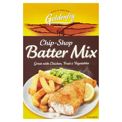 Goldenfry Chip-Shop Batter Mix 170g, (Pack of 6)