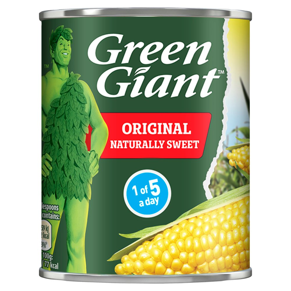 Green Giant Original Sweetcorn, 198g