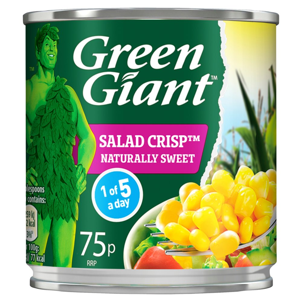 Green Giant Salad Crisp Sweetcorn, 160g