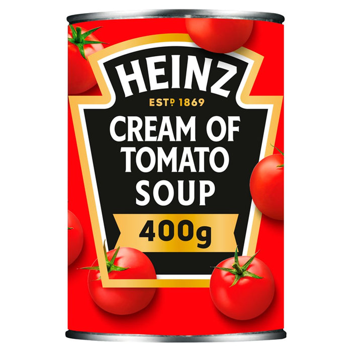 Heinz Cream of Tomato Soup, 400g (Case of 24)