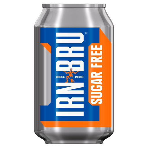 Irn Bru Sugar Free, 330ml (Case of 24)