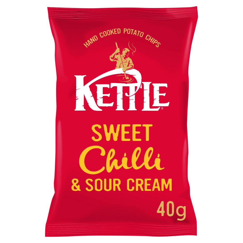 Kettle Sweet Chilli & Sour Cream, 40g (Box of 18)