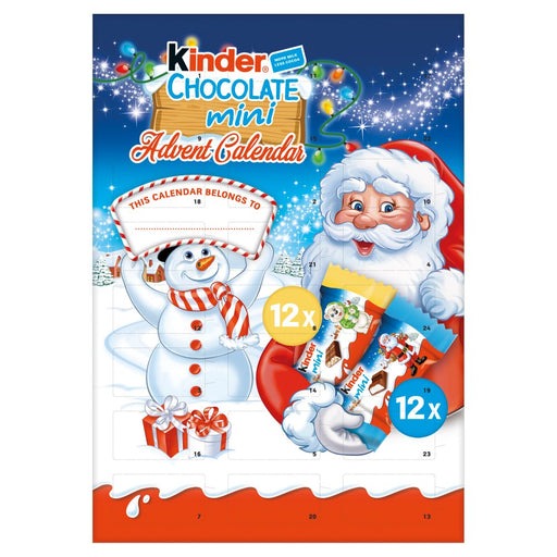 Kinder Chocolate Mini Advent Calendar 135g