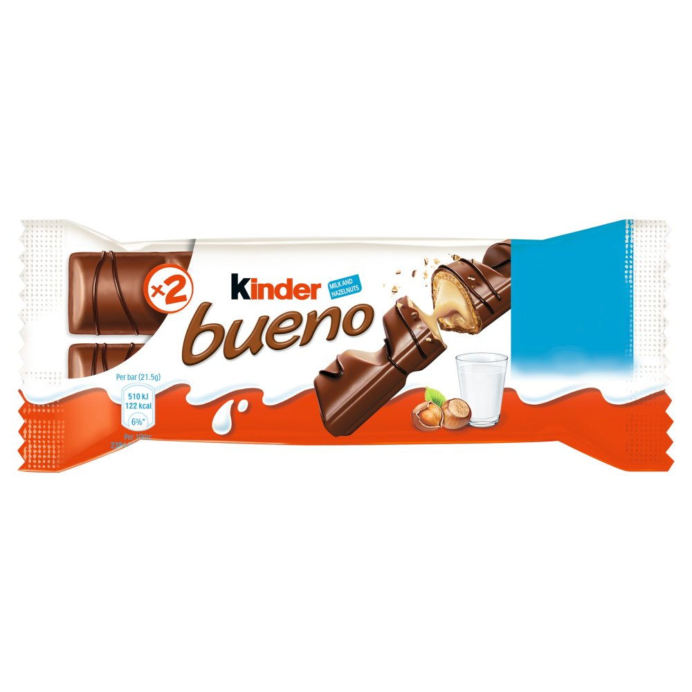 Kinder Bueno Milk and Hazelnuts