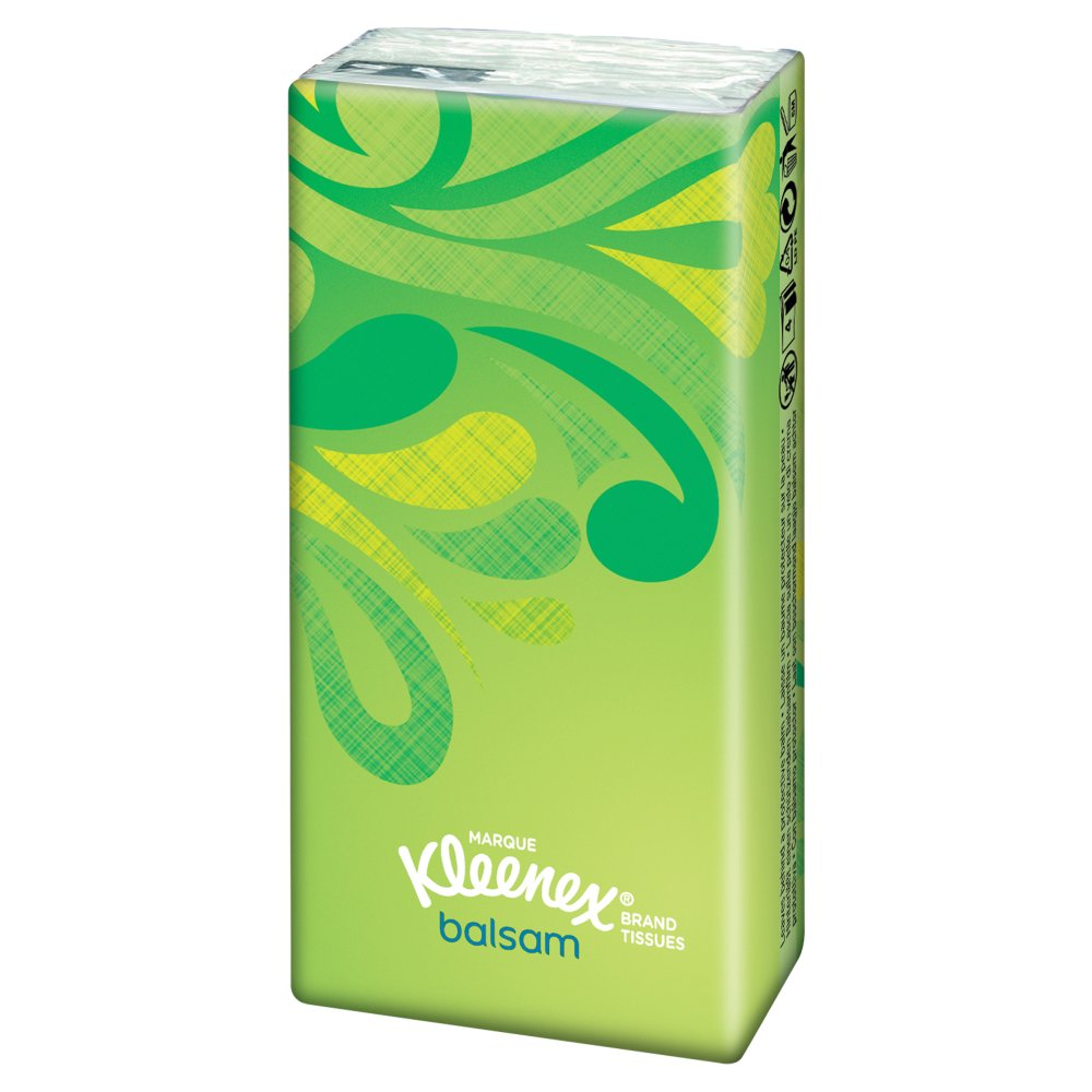 Kleenex Balsam Single Pack Tissues