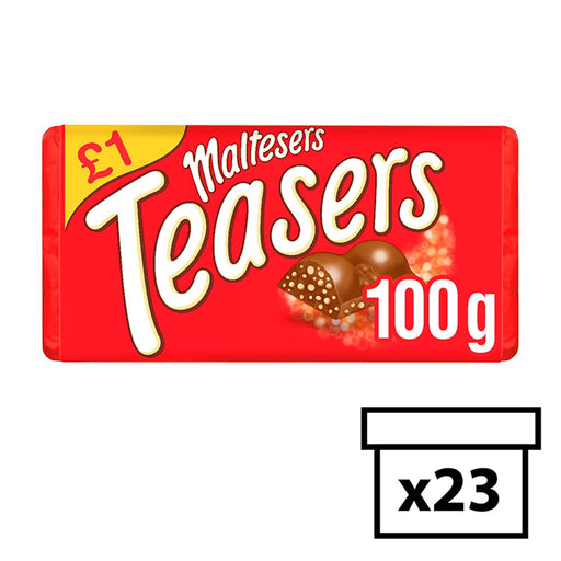 Maltesers Teasers Chocolate, 100g (Box of 23)