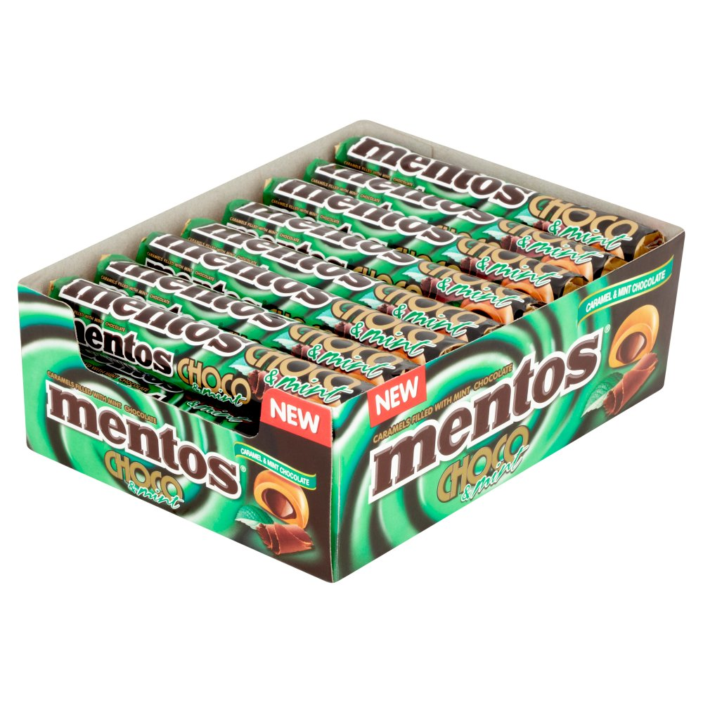 Mentos Choco and Mint Roll