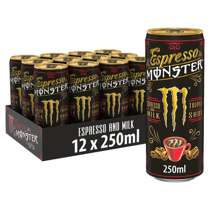 Monster Espresso 12 x 250ml