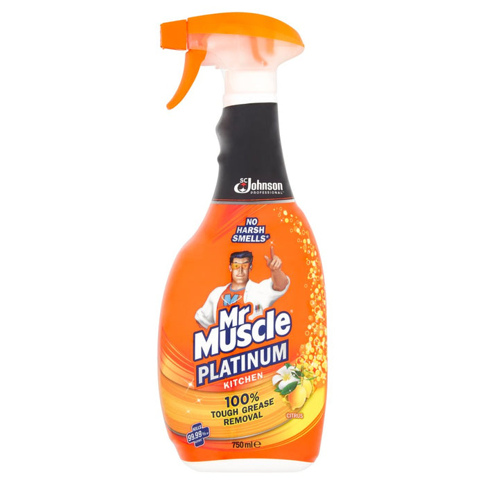 Mr Muscle Platinum Kitchen Citrus 750ml
