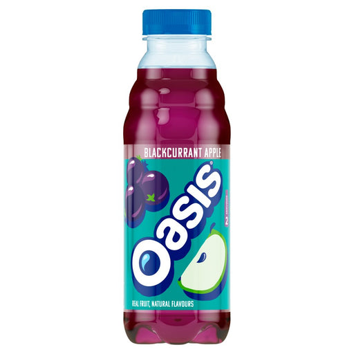 Oasis Blackcurrant Apple, 500ml (Case of 12)