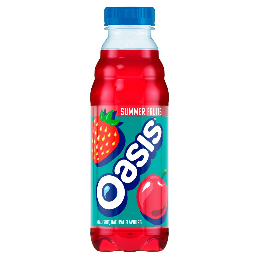 Oasis Summer Fruits, 500ml (Case of 12)