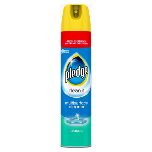 Pledge Clean It Multisurface Polish Cleaner Classic 250ml