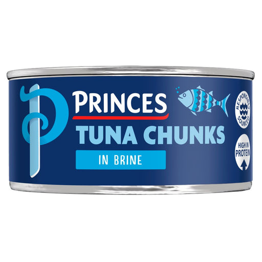 Princes Tuna Chunks in Brine, 145g (Case of 12)