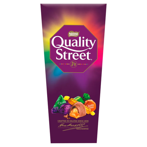 Quality Street Christmas Chocolate, Toffee and Cremes Box 240g