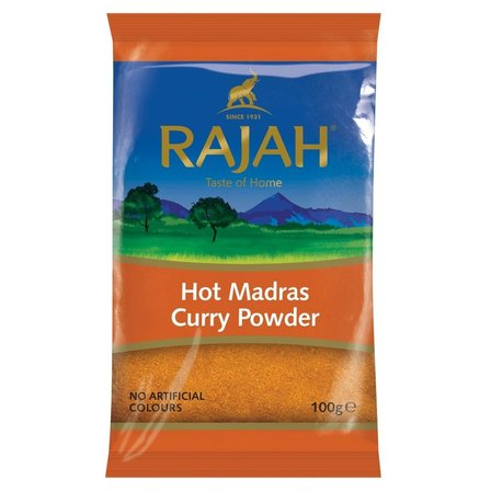 Rajah Hot Madras Powder, 100g