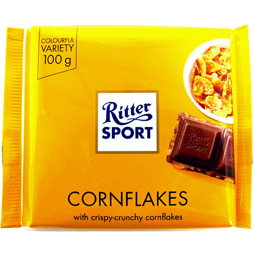 Ritter Sport Cornflake, 100g (Pack of 5)
