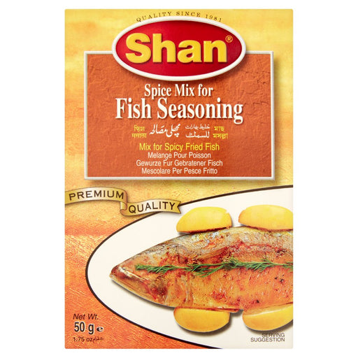 Shan Fish Seasoning Mix, 50g (Pack of 6)