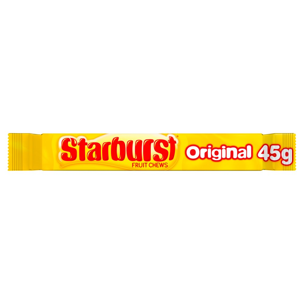 Starburst Fruit Chews Original, 45g (Box of 24)