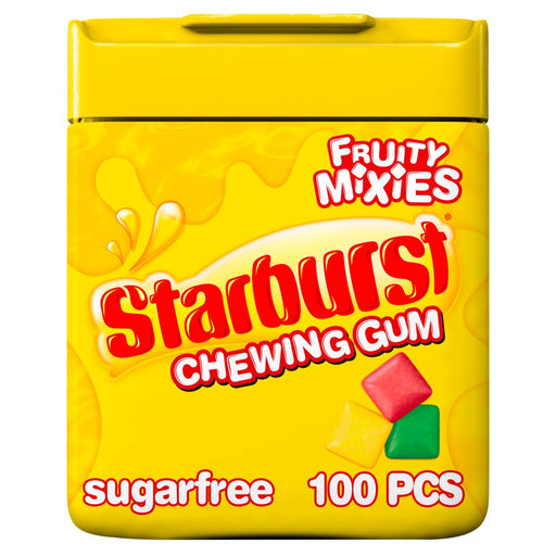 Starburst Fruity Mixes Chewing Gum Sugar Free