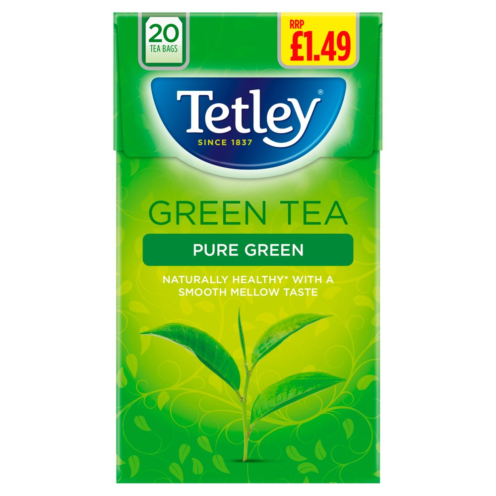 Tetley Pure Green Tea 20 Bags