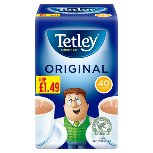 Tetley Tea bags 40, Original Tetley Tea