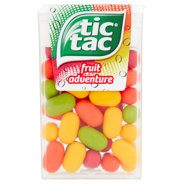 Tic Tac Fruit Adventure, 18g (Box of 24)