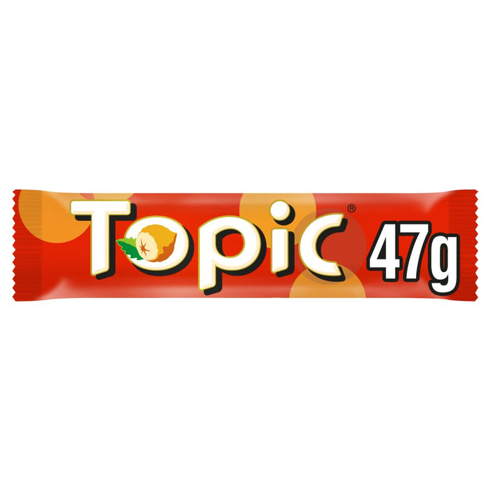 Topic Chocolate Bar, 47g (Box of 40)