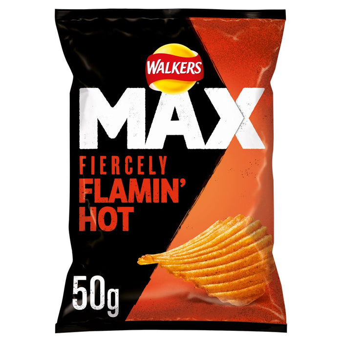 Walkers Max Fiercely Flamin' Hot Crisps