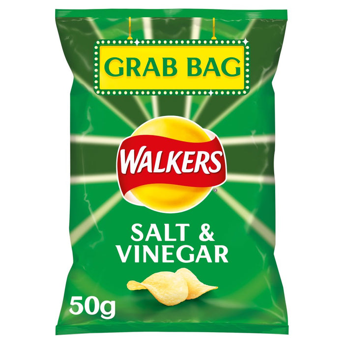 Walkers Salt & Vinegar Grab Bag Crisps