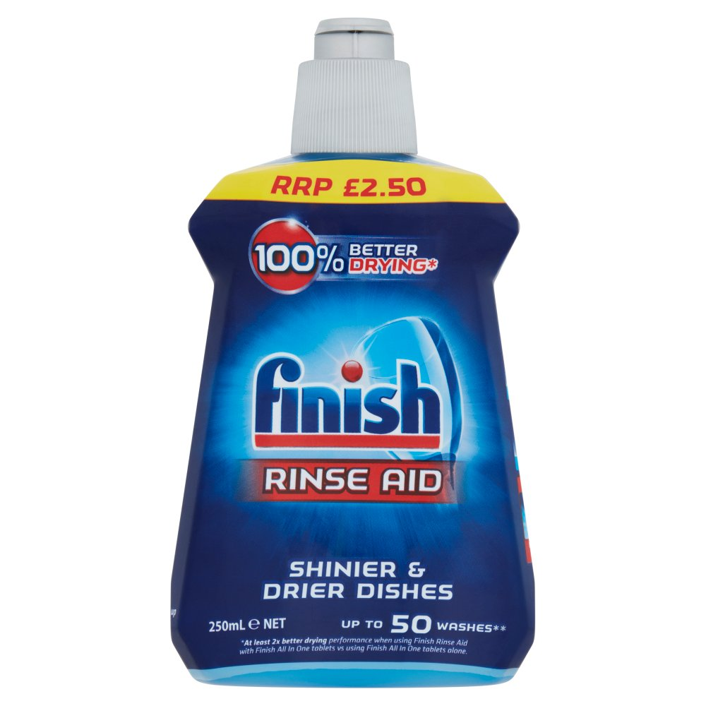 Finish Rinse Aid 250ml