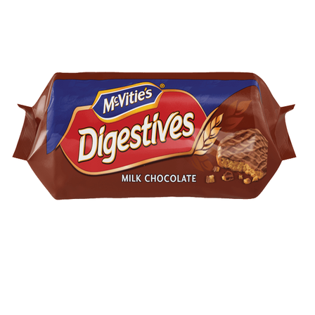 McVitie's Digestives Milk or Dark Chocolate 266g