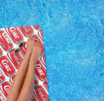 PERSONAL FLOATING OASIS COCA-COLA® POP ART