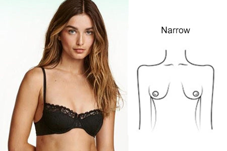 breast shape narrow