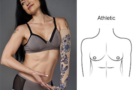 breast shape athletic