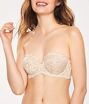 Multiway Non-Padded Lace With Side Boning