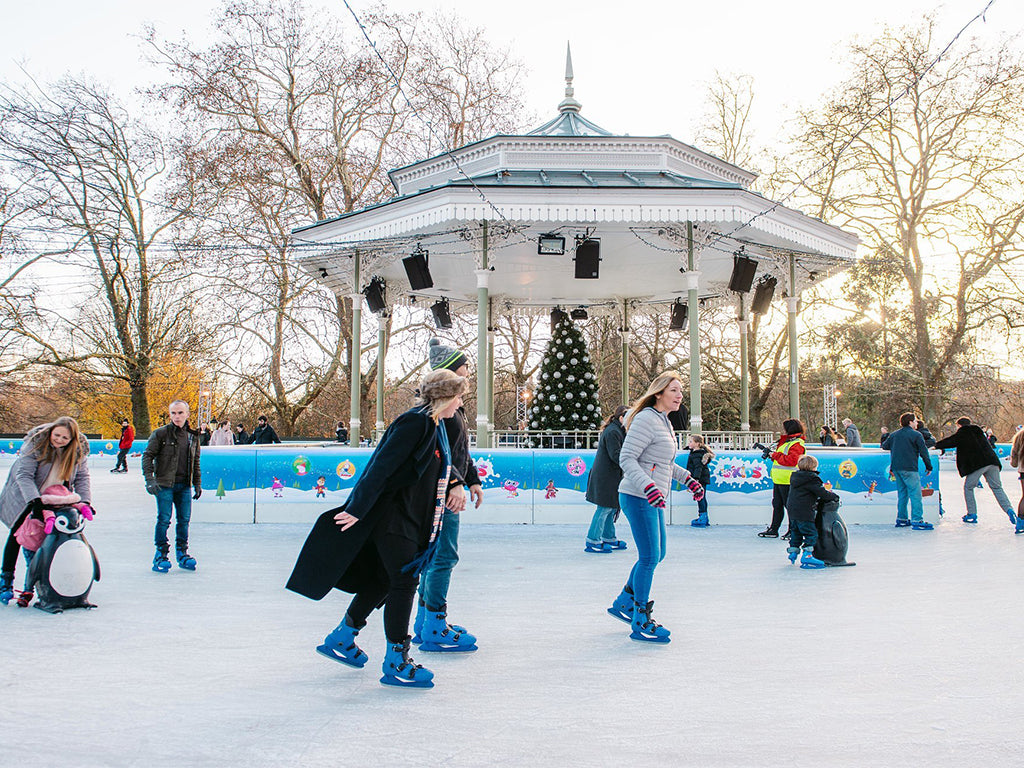 Winter Ice Rink