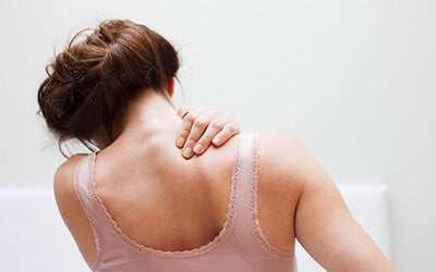 back pain caused by binding straps