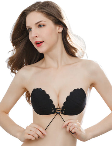 Invisible Bra Strapless Bra Self Adhesive Backless Bras Silicone Push up Bra - Niidor
