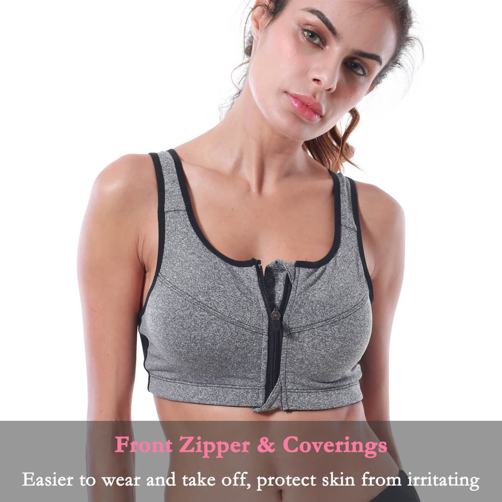 Women's Front Close Builtup Sports Bra - Niidor