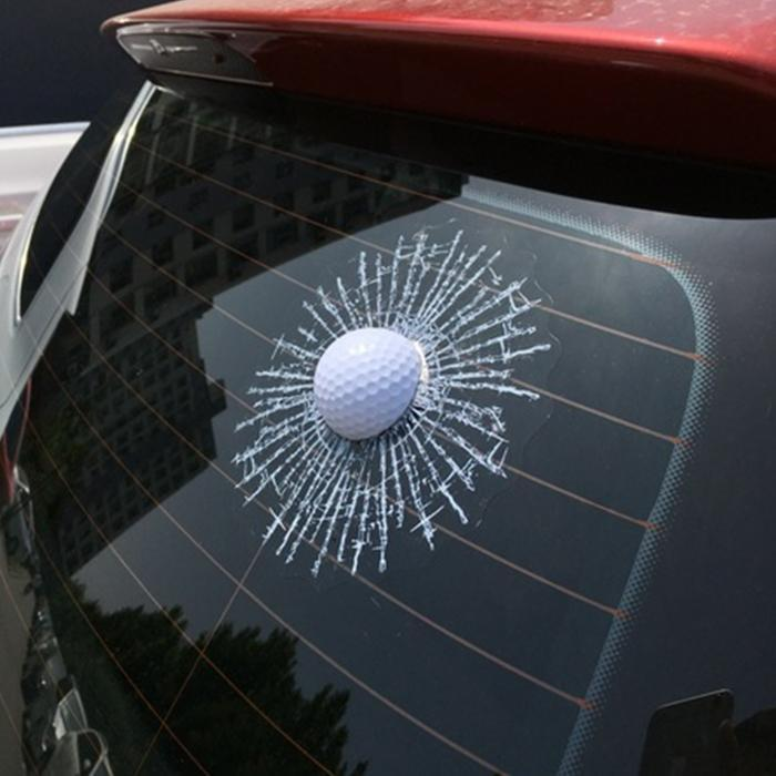 3D Golf Ball Sticker