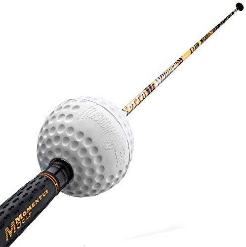 Momentus Men's Speed Whoosh Golf Swing Trainer with Training Grip