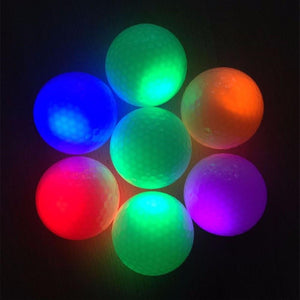 LED Light Up Golf Balls (3pc random color)