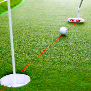 Laser Putter - Training Aim Line Corrector