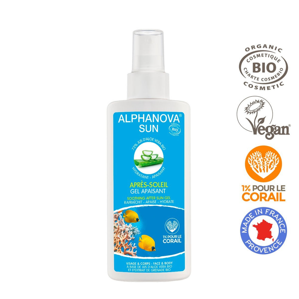 Alphanova Sun - Organic Certified After-Sun Gel 125ml