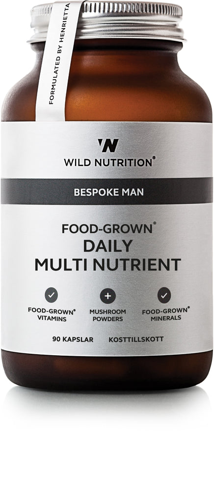 Food-Grown Daily Multi Nutrient Man - 90 caps