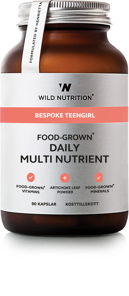 Food-Grown Daily Multi Nutrient Teengirl - 90 caps