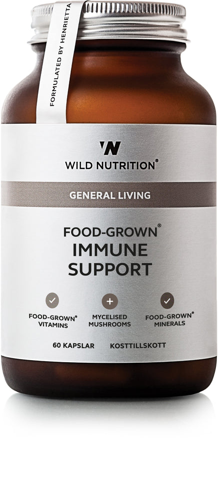 Food-Grown Immune Support - 60 caps