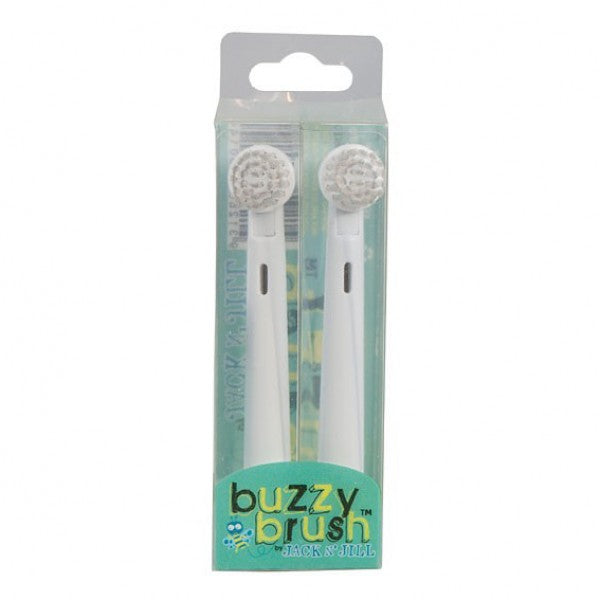 Jack N´Jill - Buzzy Brush Replacement Heads 2pk