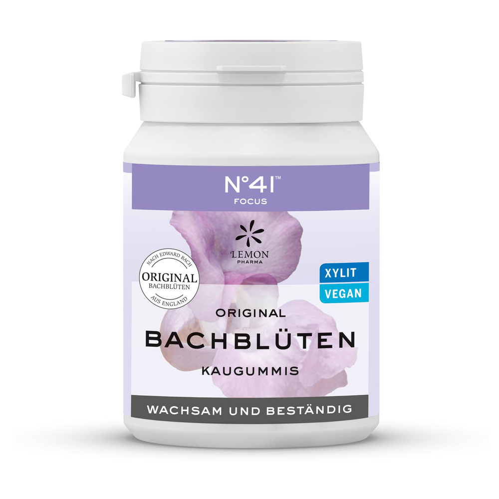 Bach tyggegummi No.41™ KONCENTRATION - 60gr
